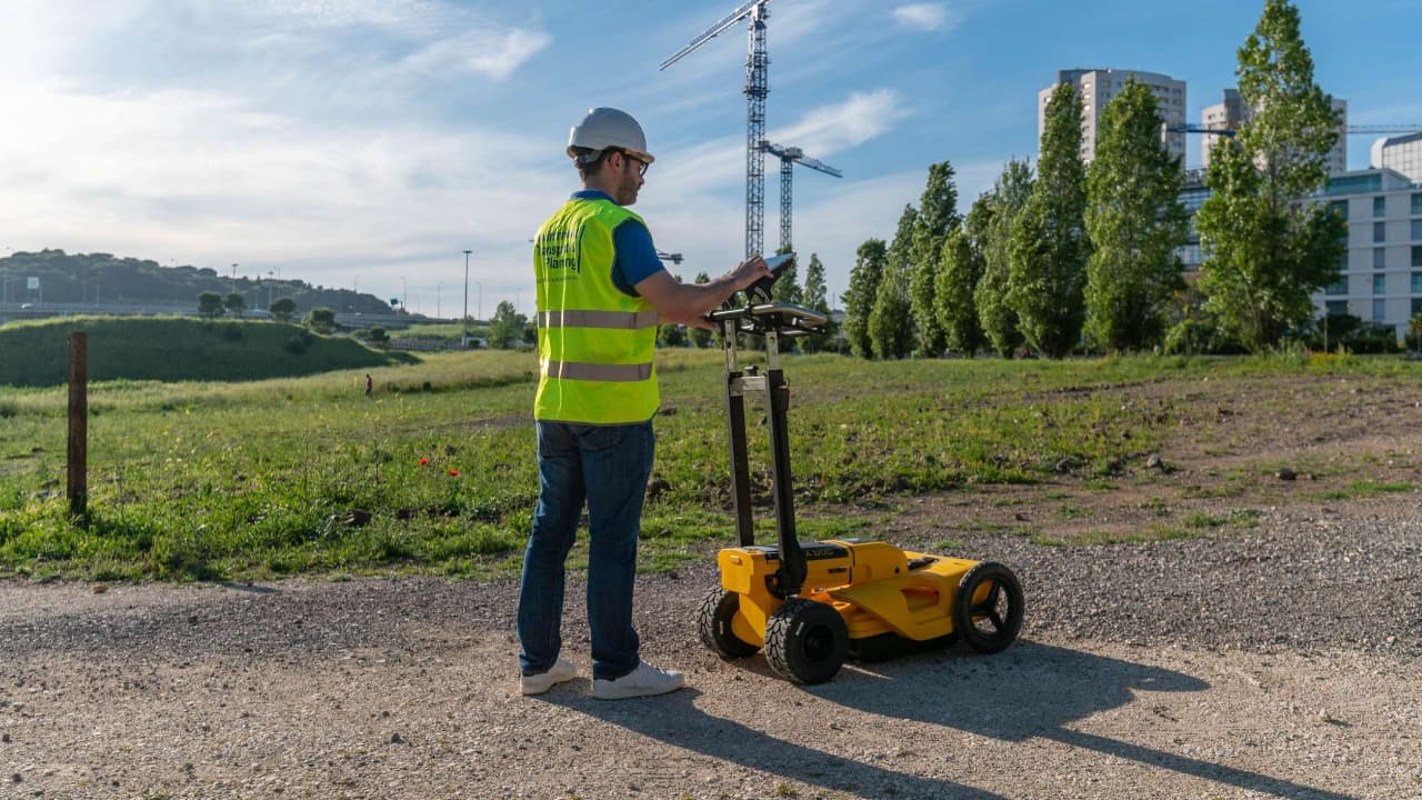Utilização do Georadar no âmbito de um serviço geoambiental